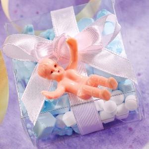 Bebé pequeño de plástico-3,5cm