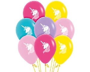 Globo Latex R12 Sempertex Fashion Solido Surtido Colores Unicornio 2 Caras 30cm