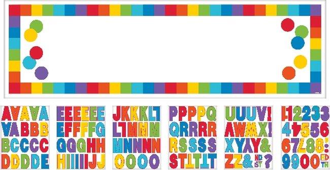 Letrero Gigante Personalizado Colores Primarios 1,65m