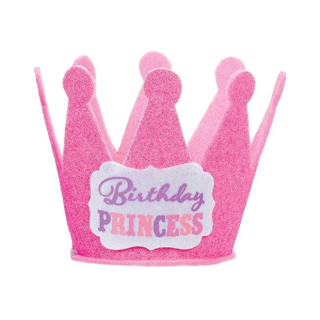 Gorro Birthday Princess Mini Glitter Hats