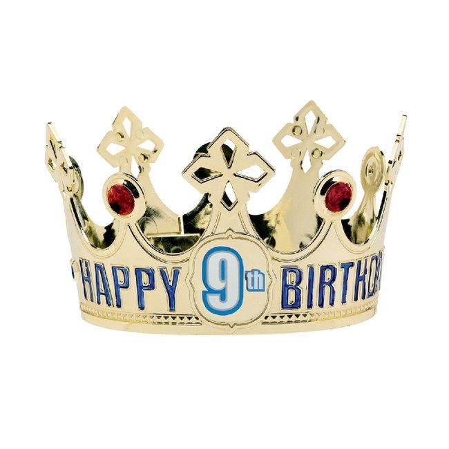 Gorro Happy Birthday Add an Edad Crowns
