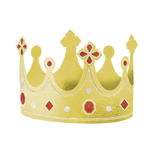 Tiara Foil Crown Hats