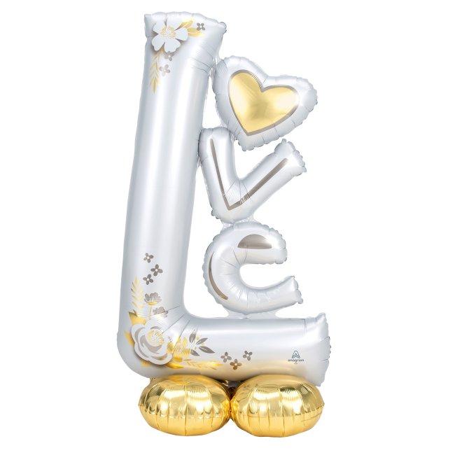 AIRLOONZ LOVE WEDDING 73X147cm