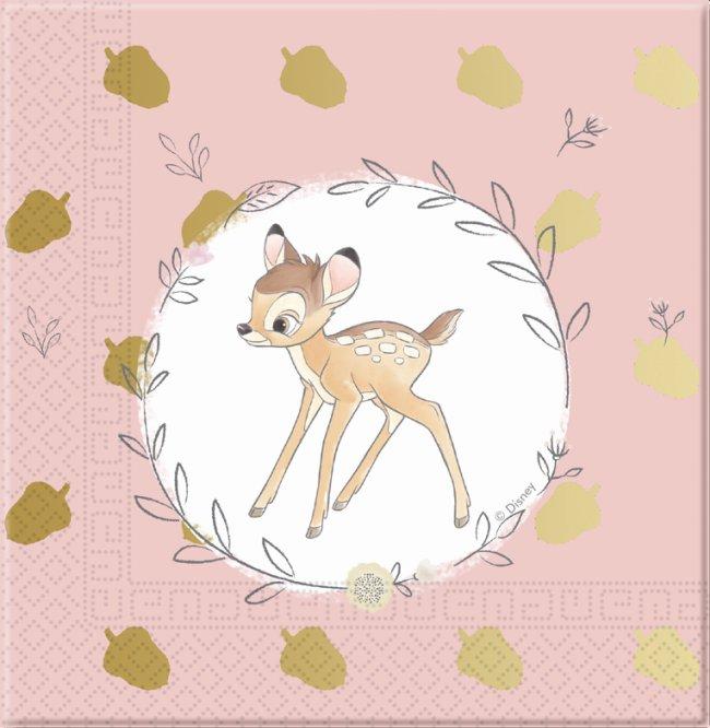 Servilletas 33X33 Bambi