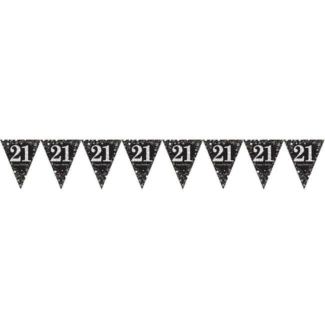 Banderines Sparkling Prismáticos Metalizados Edad 21 - 4m