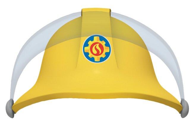 Sombrero de cartón para fiesta de Sam el bombero