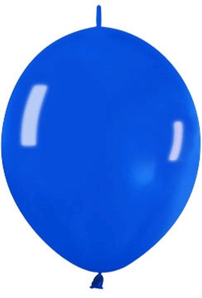 Globo Latex Link-O-Loon 6 Sempertex Premium Cristal Azul 15cm