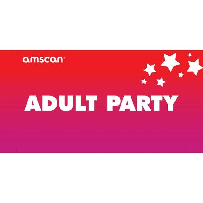 Terjetas Adult Party Point of Sale 2ft/61cm x 1ft/30cm