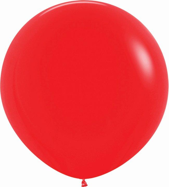 Globo Latex R36 Sempertex Fashion Solido Rojo 91,5cm