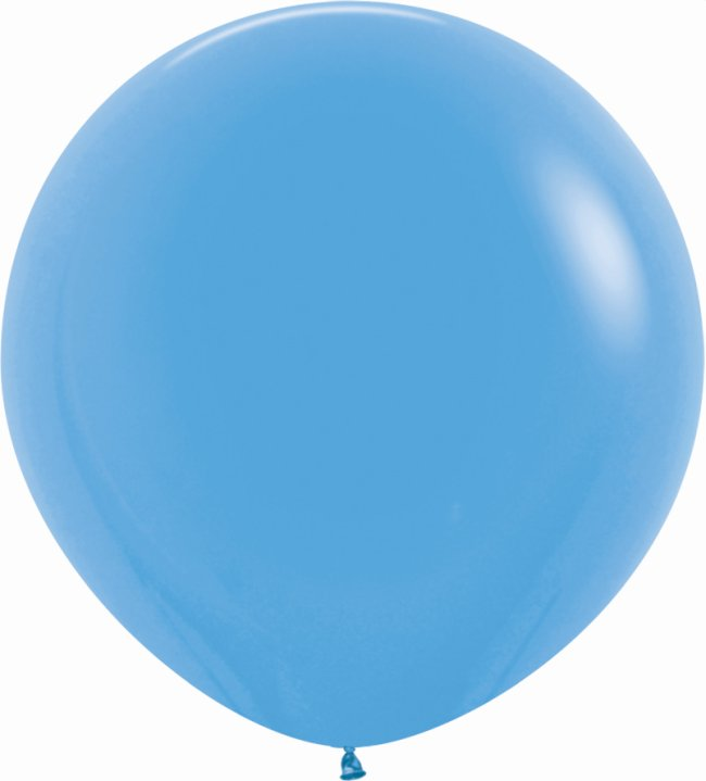 Globo Latex R36 Sempertex Fashion Solido Azul 91,5cm