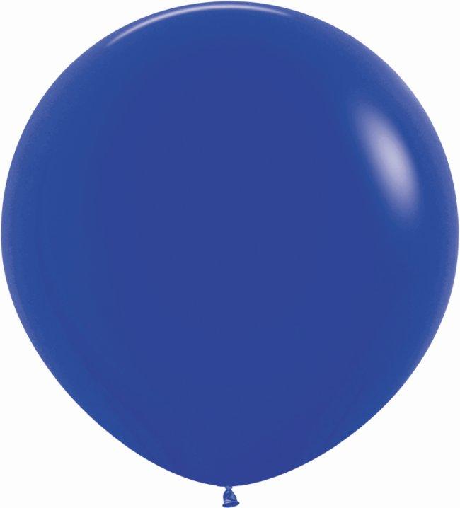 Globo Latex R36 Sempertex Fashion Solido Azul Rey 91,5cm