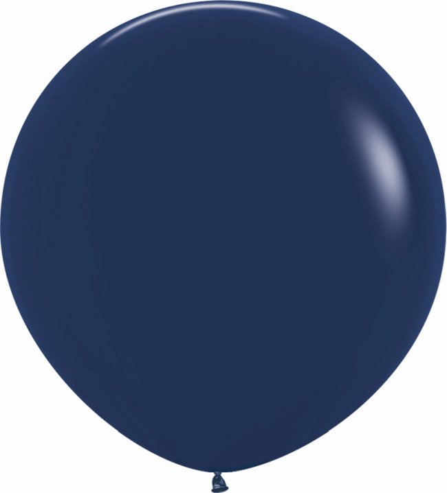 Globo Latex R36 Sempertex Fashion Solido Azul Naval 91,5cm