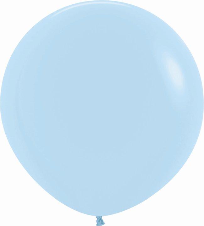 Globo Latex R36 Sempertex Pastel Azul 91,5cm
