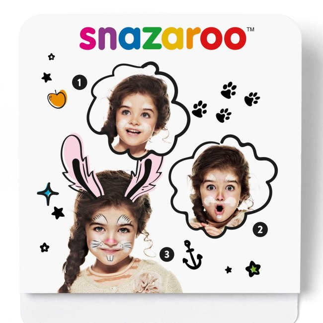 Maquillaje Snazaroo Mini F-Paint Bunny Kit