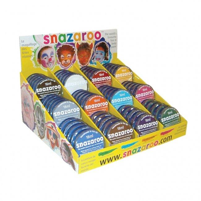 Maquillaje Snazaroo 18Ml Counter Pack