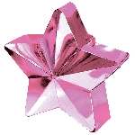 Soporte para Globos Estrella Rosa - 168g