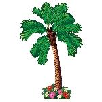 Palmera Artículada Decoración Hawaiana - 1,82cm