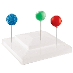 Soporte Blanco para colocar Cake Pops en Palillos - 25cm