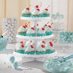 Stand para cupcakes color Blanco