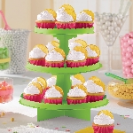 Stand para cupcakes color kiwi