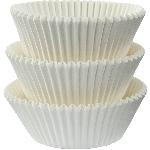 Fundas para Cupcakes Blancas - 5cm