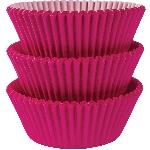 Fundas para Cupcakes Rosa Brillante - 5cm
