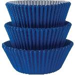 Fundas para Cupcakes Azul Real - 5cm