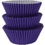 Fundas para Cupcakes Violeta - 5cm