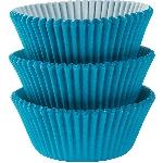 Fundas para Cupcakes Azul Caribe - 5cm