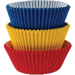 Fundas para Cupcakes Arcoíris - 5cm