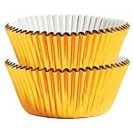 Fundas Doradas Metalizadas para Pastelitos Cupcake - 3cm