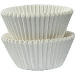 Mini Fundas para Cupcakes Blancas - 3cm