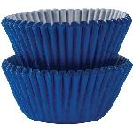 Mini Fundas para Cupcakes Azul Marino - 3cm
