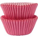 Mini Fundas para Cupcakes Rosa - 3cm