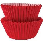 Mini Fundas para Cupcakes Rojas - 3cm