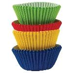 Mini Fundas para Cupcakes Arcoíris - 3cm