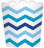 Envase grande ondulado azul
