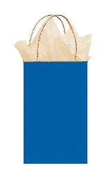 Bolsa papel Bright Royal Blue Gift 21cm x 13cm x 9cm