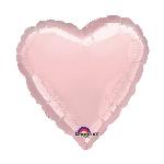 Globos Rosa Perlado Metálico en forma de Corazones - Aluminio 32'