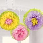 Pompón Flores de Verano Decorativos - 40cm