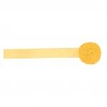 Cinta de papel crepé amarilla-24m