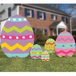Letreros Huevos de Pascua para el Patio - 55cm