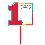 Acc Decoracion Rainbow 1st Birthday Lawn Signs