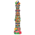 RECORTABLE TIKI JOINTED TOTEM POLE 2M