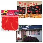 Fondos para Photocall Corazones Decoración San Valentín - 30cm