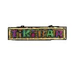 Cartel Bar Tiki - Decoración Hawaiana 1m