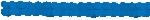 Guirnalda decorativa de papel azul fuerte-3,7m