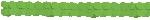 Guirnalda decorativa de papel verde lima-3,7m
