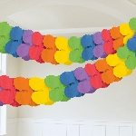 Guirnalda Rainbow Paper Garlands 3.65m