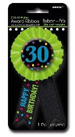 Condecoración 30th Birthday
